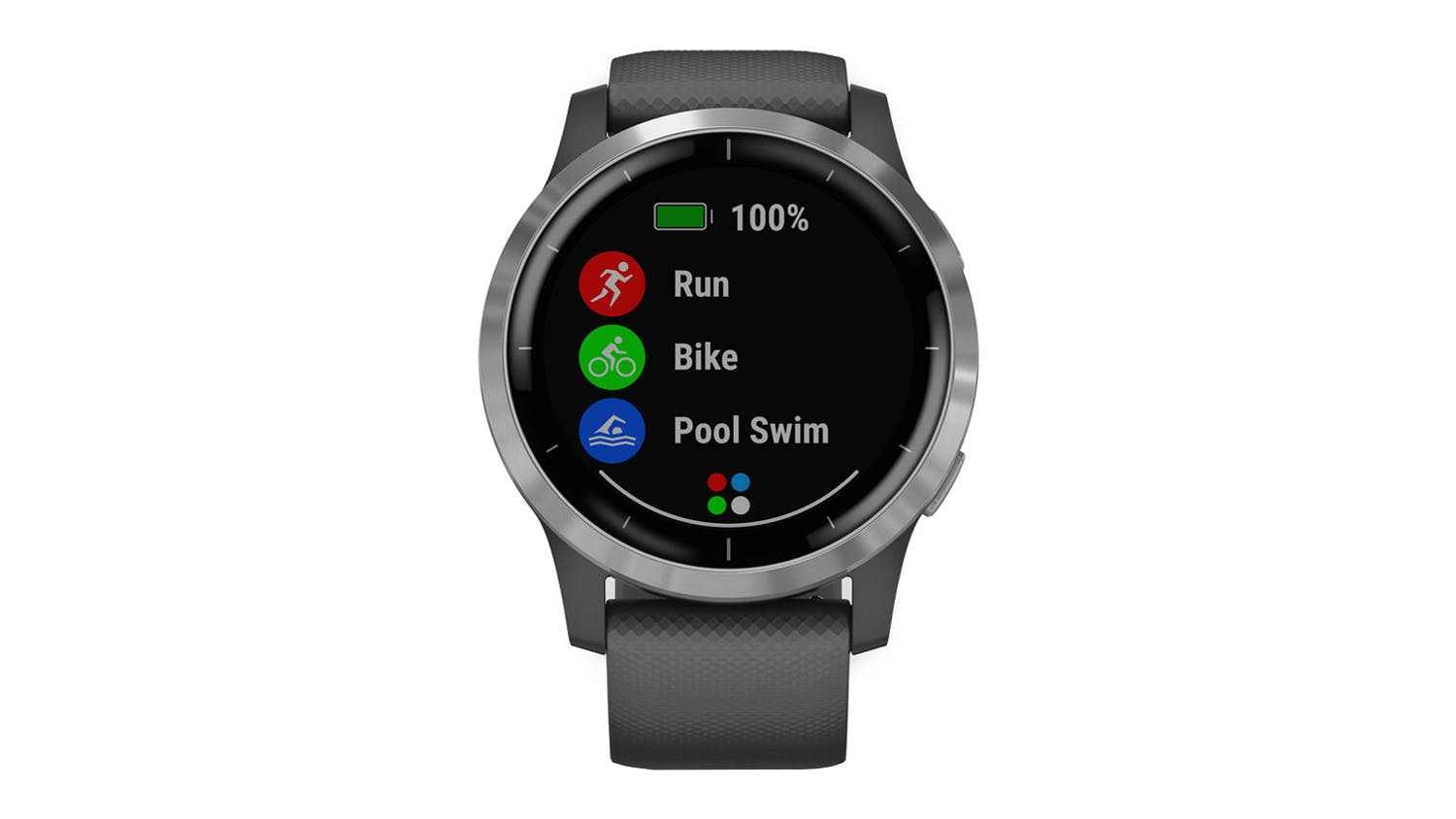 Garmin vivoactive 4 - Shadow Grey/Silver
