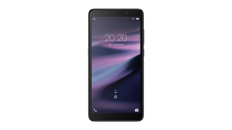 Image of Vodafone Smart P11 Smartphone + Prepay SIM Card - Black