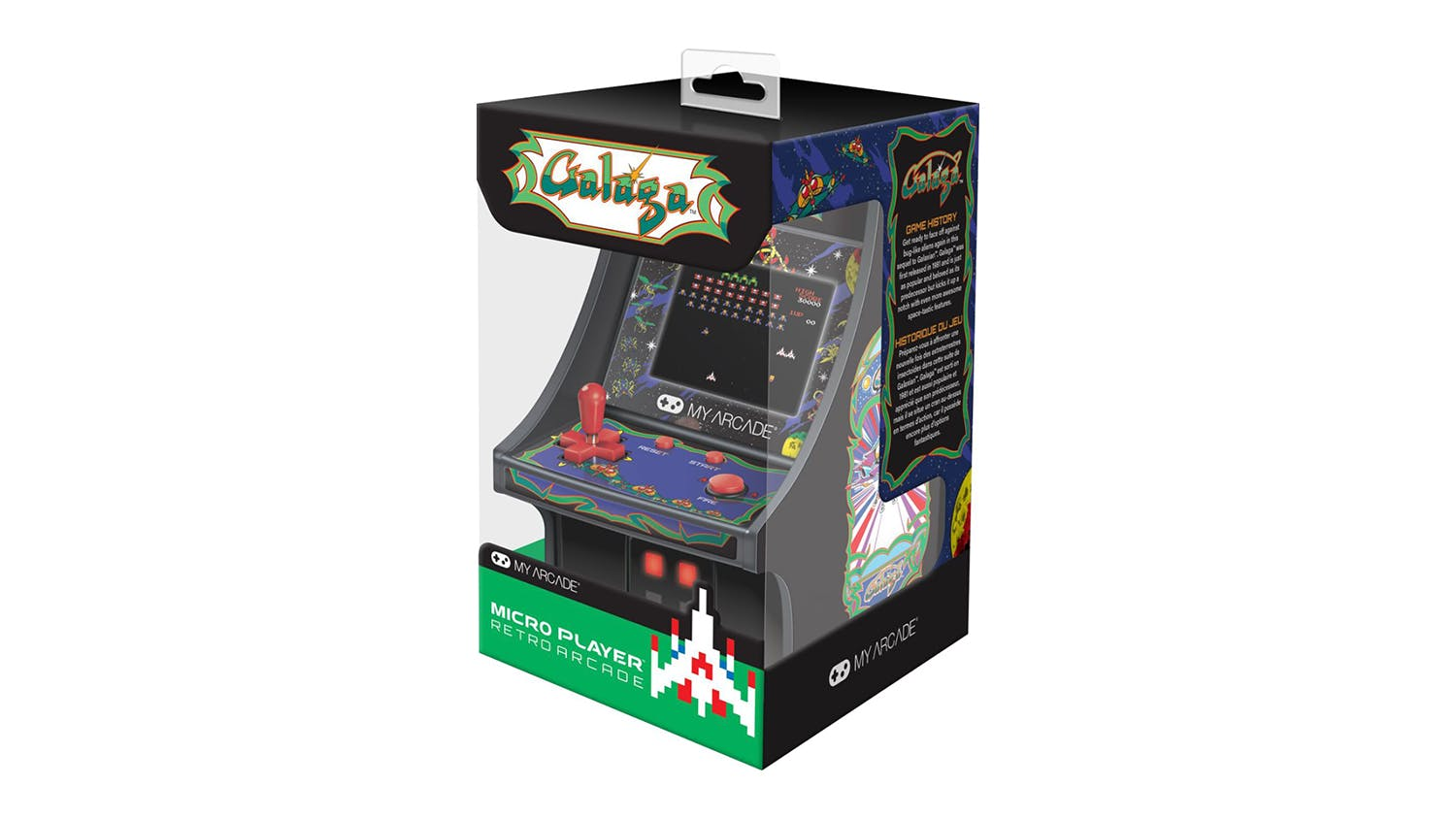 My Arcade Micro Player - Retro Galaga