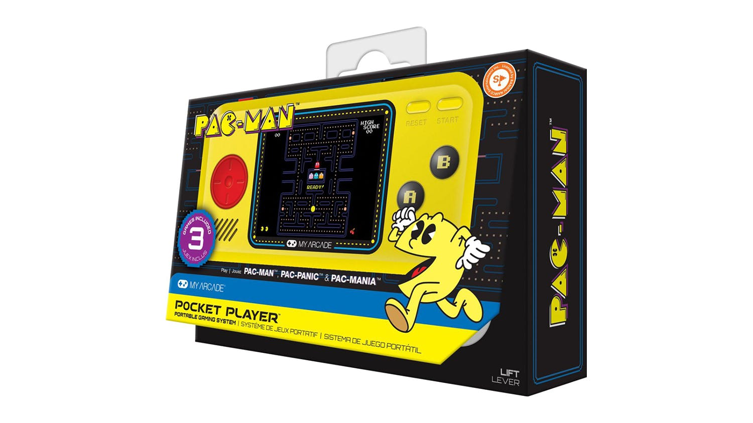 My Arcade Handheld Console - Pac-Man Hits