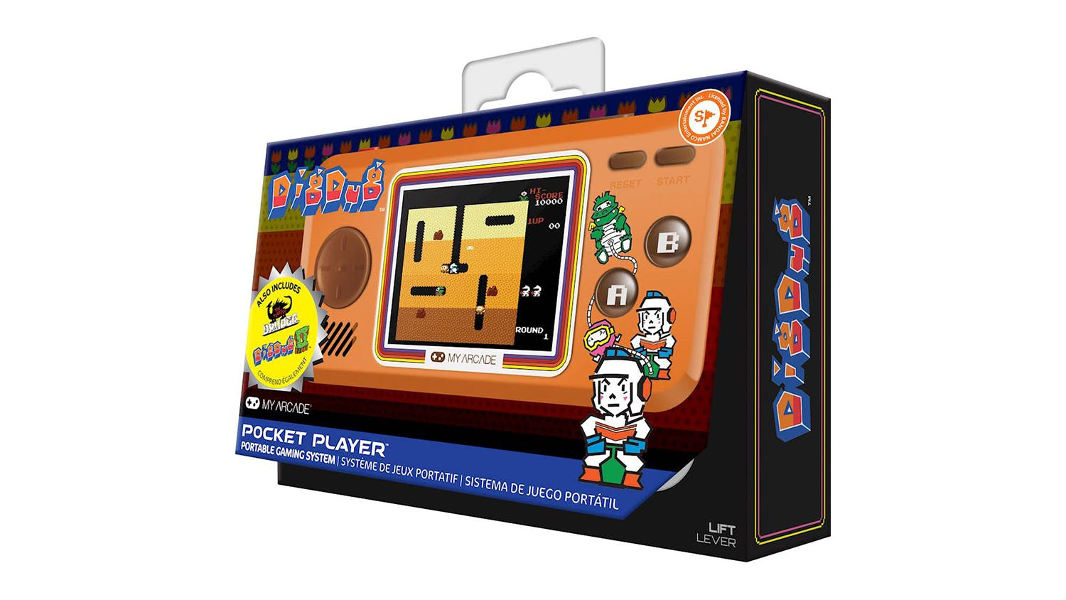 My Arcade Handheld Console - Dig-Dug