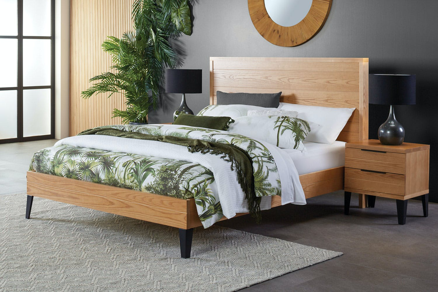 Huntsbury Super King Bed Frame by Woodpecker Furniture
