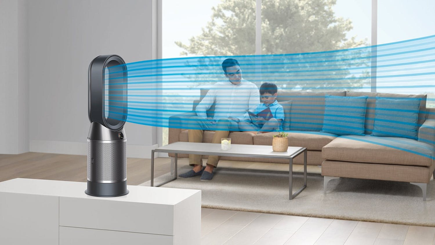 Dyson Hot Cool HP04 Air Purifier - Black Nickel