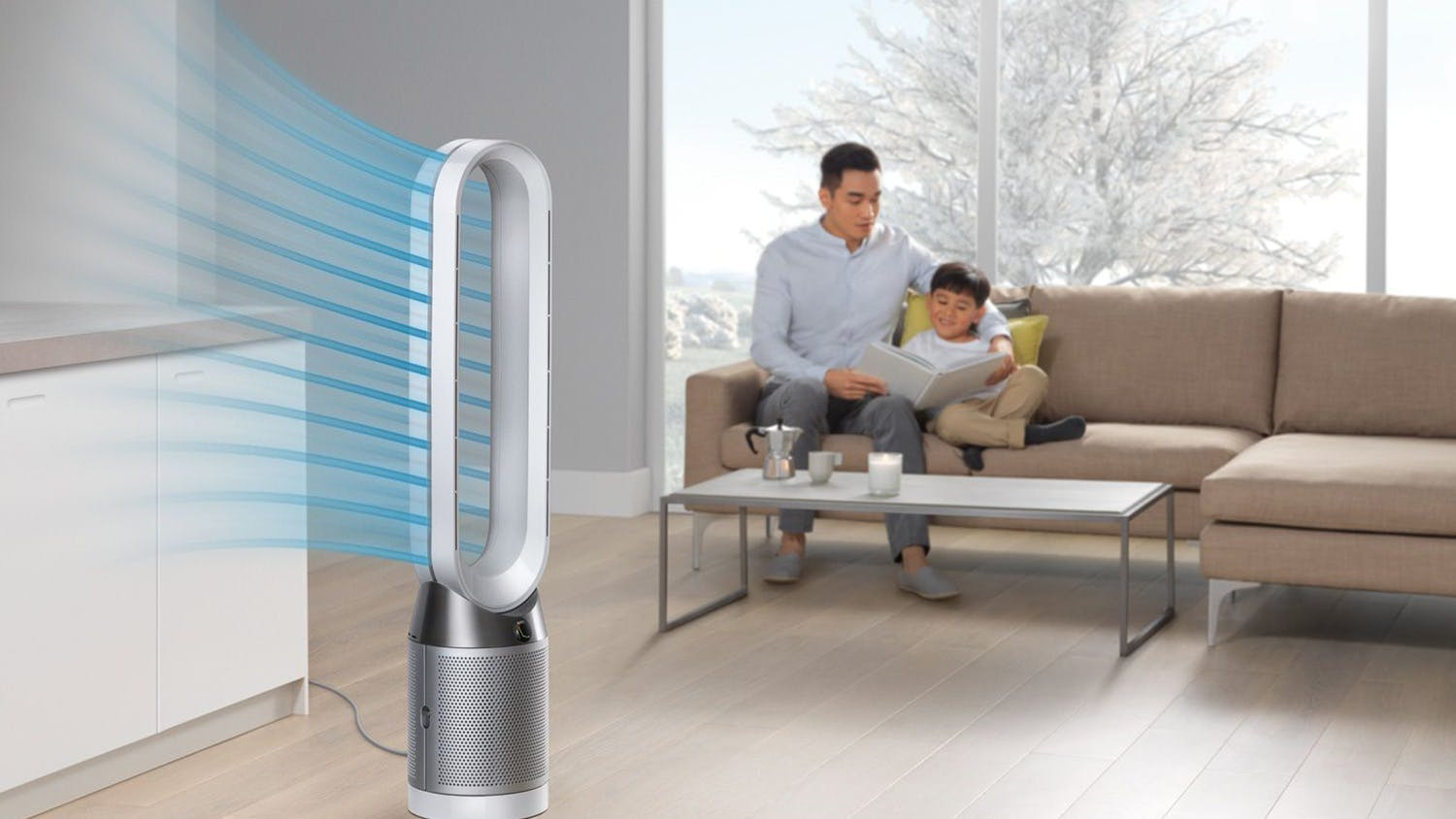 Dyson Pure Cool Link TP04 Tower Fan