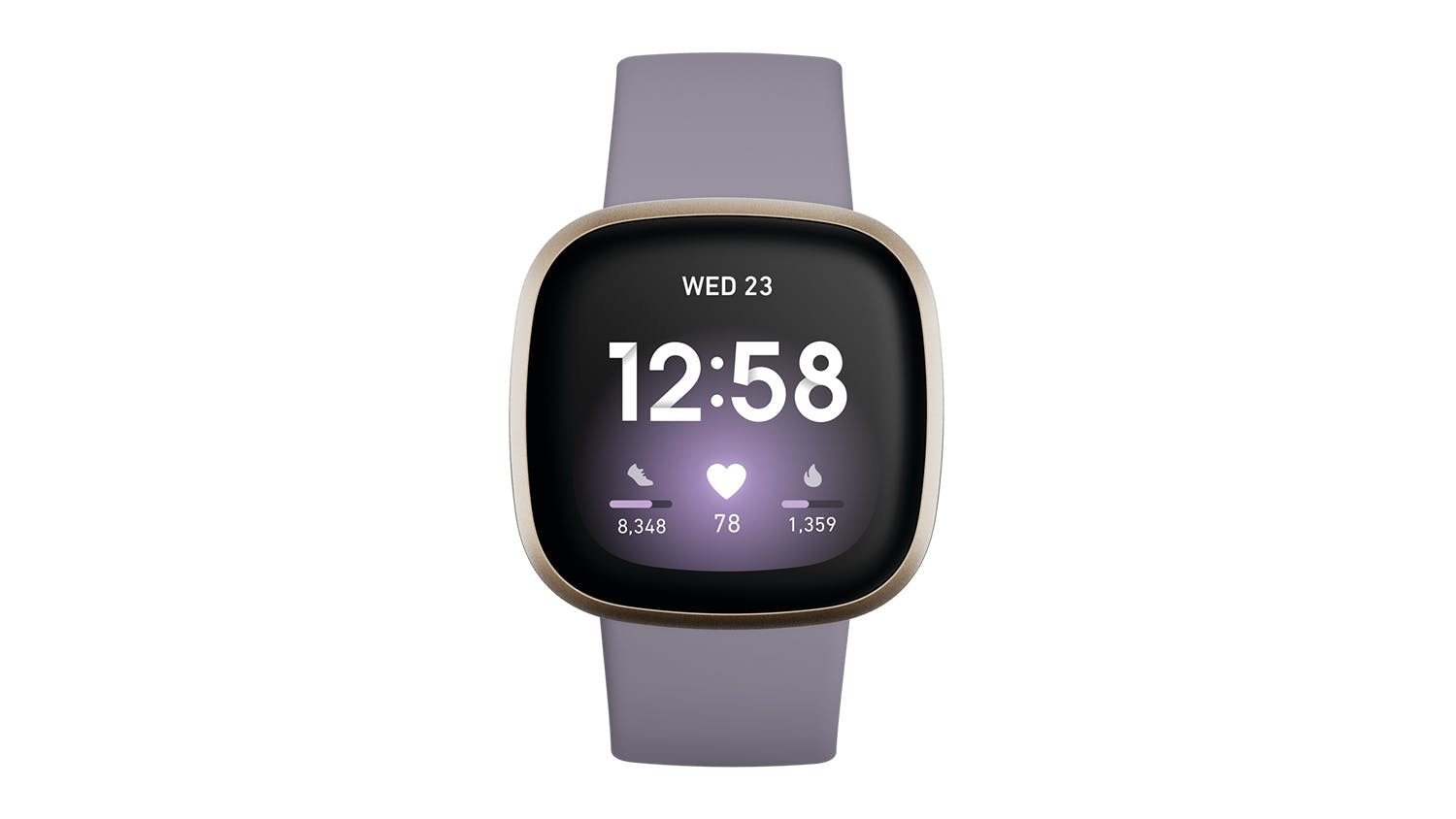 Fitbit Versa 3 - Thistle/Soft Gold