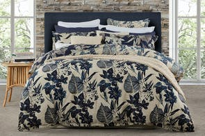 Allambie Indigo Duvet Cover Set by Private Collection