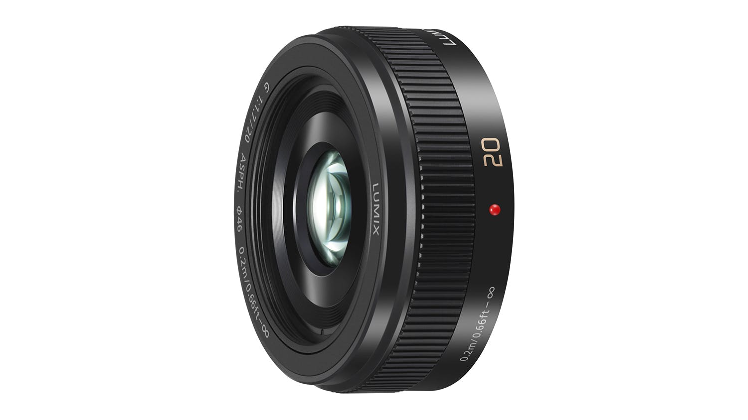 Panasonic Lumix G 20mm f/1.7 Lens