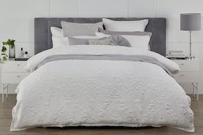 Rosenthal White Duvet Cover Set by Platinum Collection