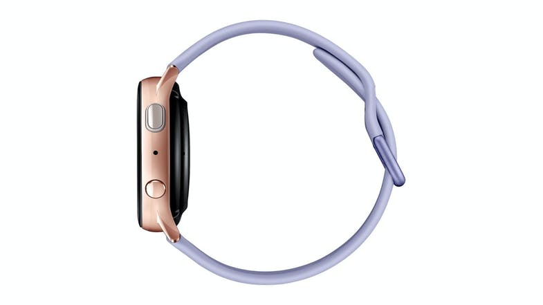 Samsung Galaxy Watch Active2 - Rose Gold 40mm with Phantom Violet Strap