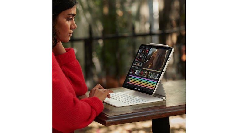 "iPad Pro 12.9"" Wi-Fi + Cellular 256GB - Silver (2021 ..."