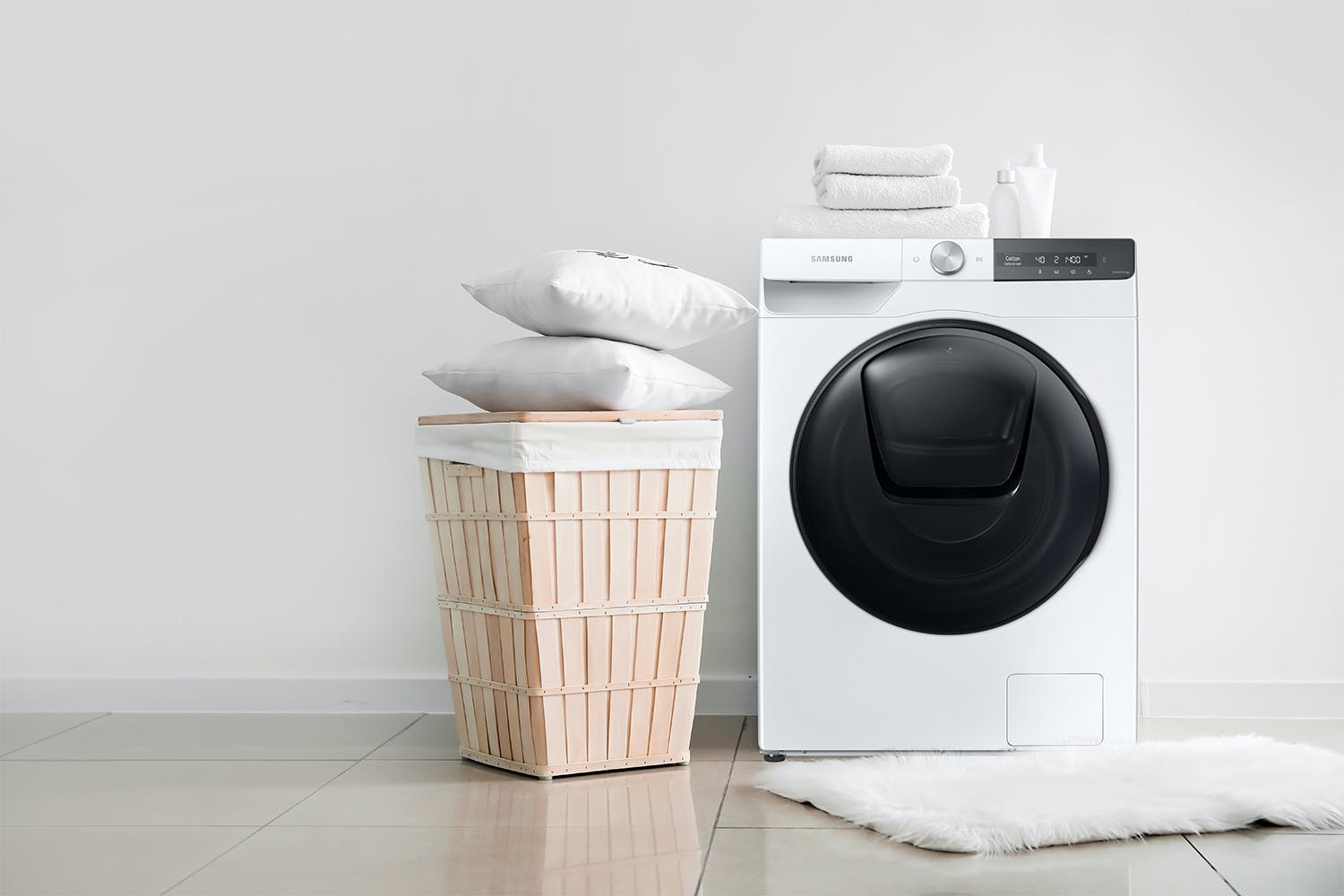 Samsung 9.5kg Front Loading Washing Machine