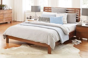 Riverwood Standard Queen Bed Frame by Sorenmobler