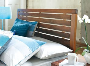Riverwood Slat Queen Headboard by Sorensen Furniture