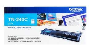 Brother TN240 Toner Cartridge - Cyan