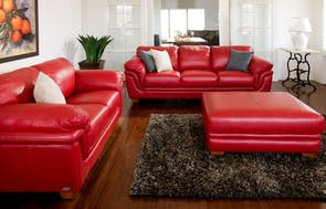 Demi 2 Piece Leather Lounge Suite by La-Z-Boy
