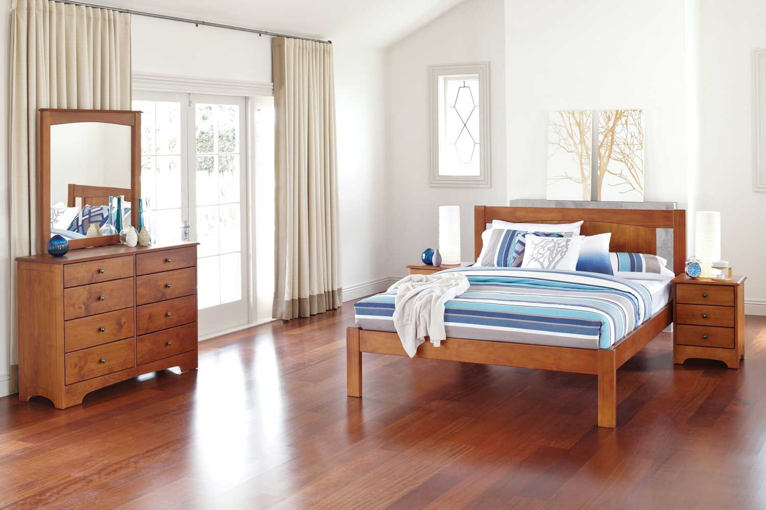 Calais Bedroom Furniture by Northwood - Rimu Stain