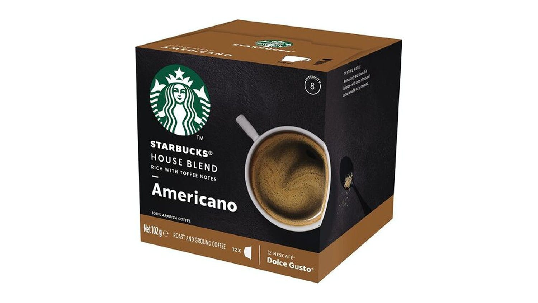 Image of Starbucks Dolce Gusto Americano Coffee Capsules