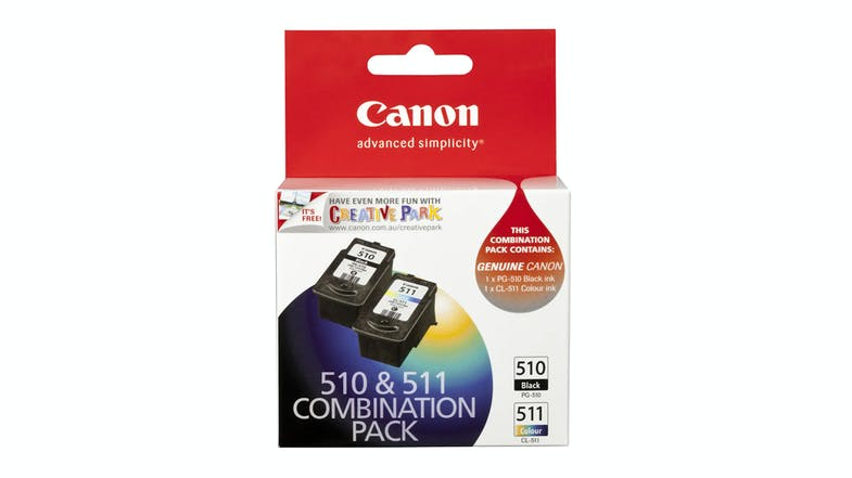 Canon PG510 and CL511 Ink Combo Pack