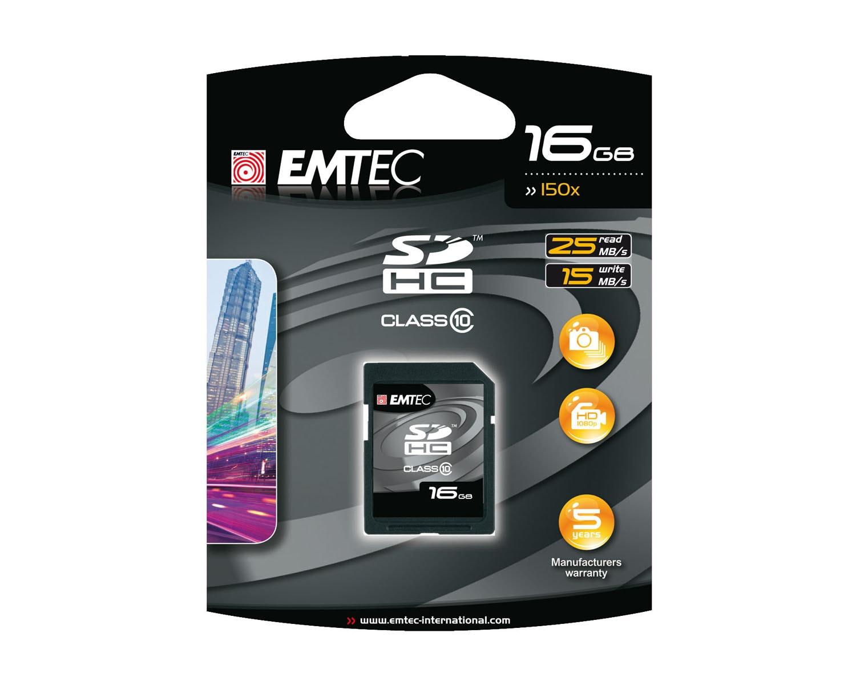 Emtec 16GB SDHC Card Class 10