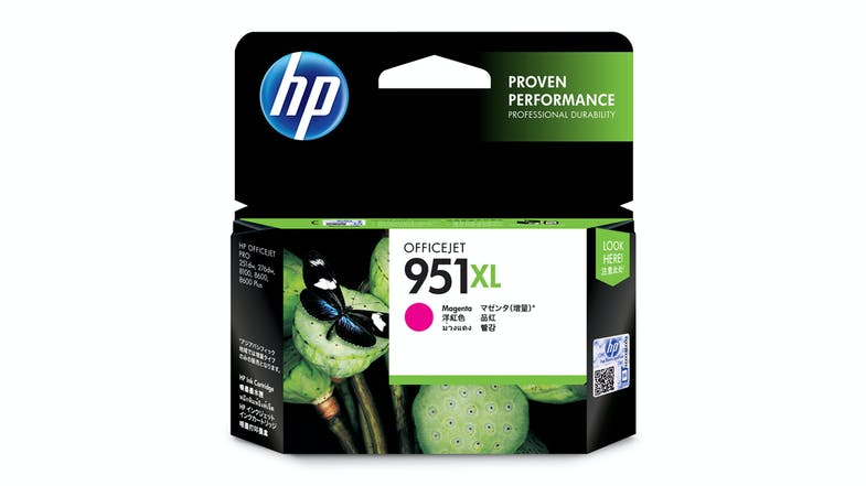HP 951XL High Capacity Ink Cartridge - Magenta