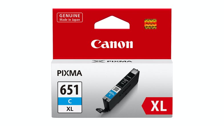 Canon CLI651XL High Capacity Ink Cartridge - Cyan