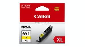 Canon CLI651XL High Capacity Ink Cartridge - Yellow