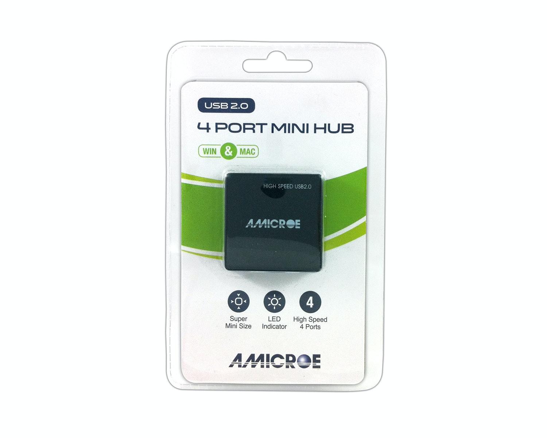 Amicroe 4 Port Mini Hub