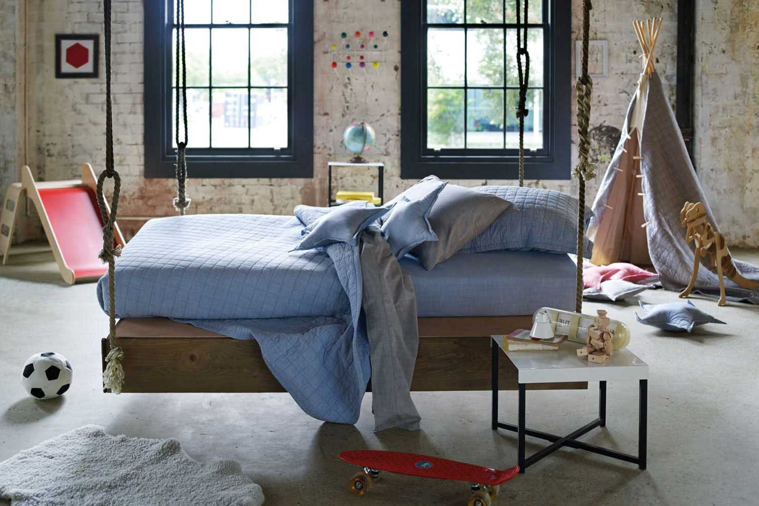 Reilly Chambray bed linen by Sheridan Junior