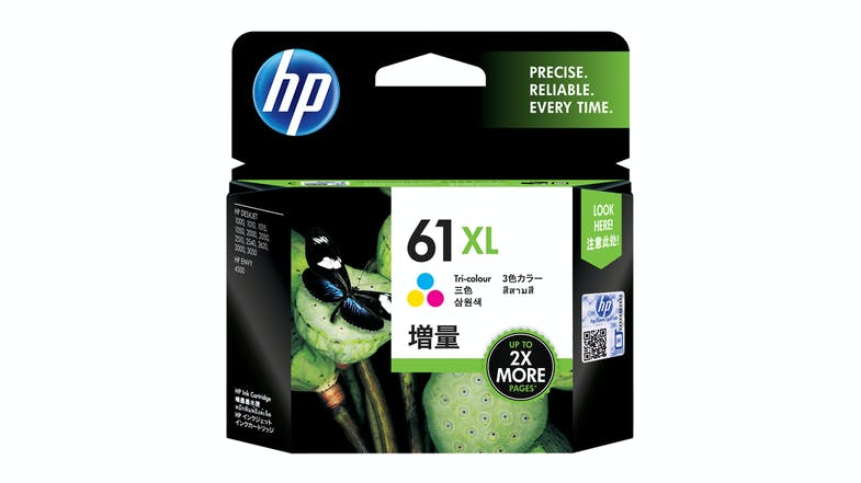 HP 61XL Tri-Colour Ink Cartridge