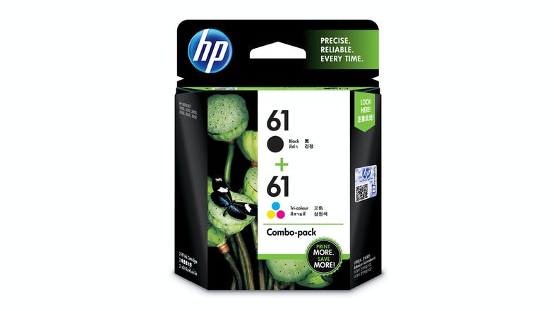 HP 61 Ink Cartridges - Combo Pack
