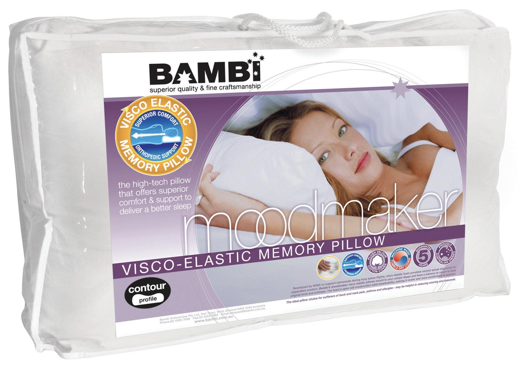 Visco Elastic Pillow by Bambi