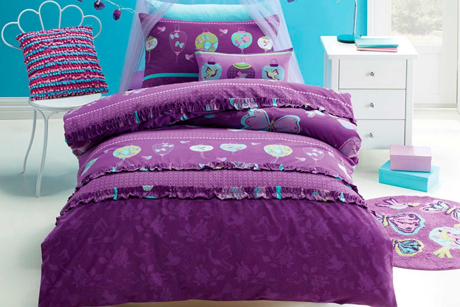 Children's Butterfly Duvet