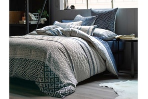 Duvet Cover Set Suno Navy