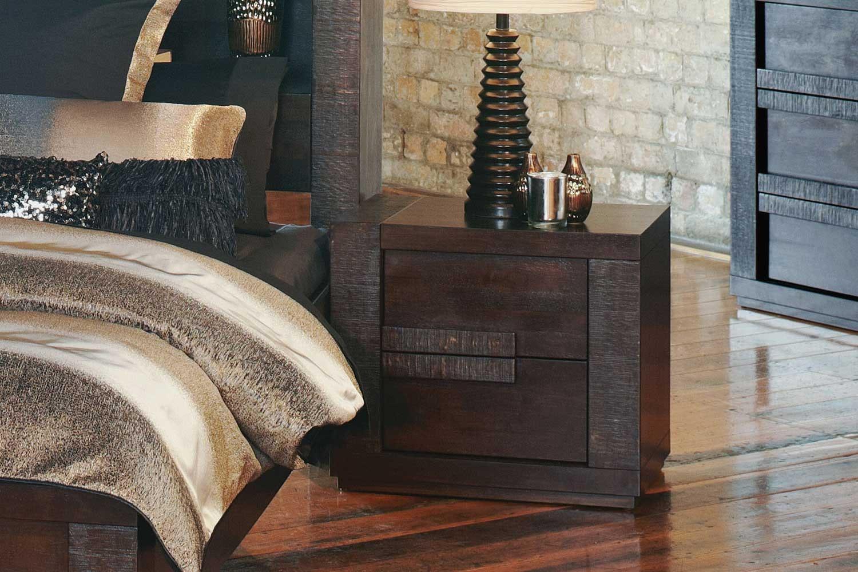 Wooden Java Bedside