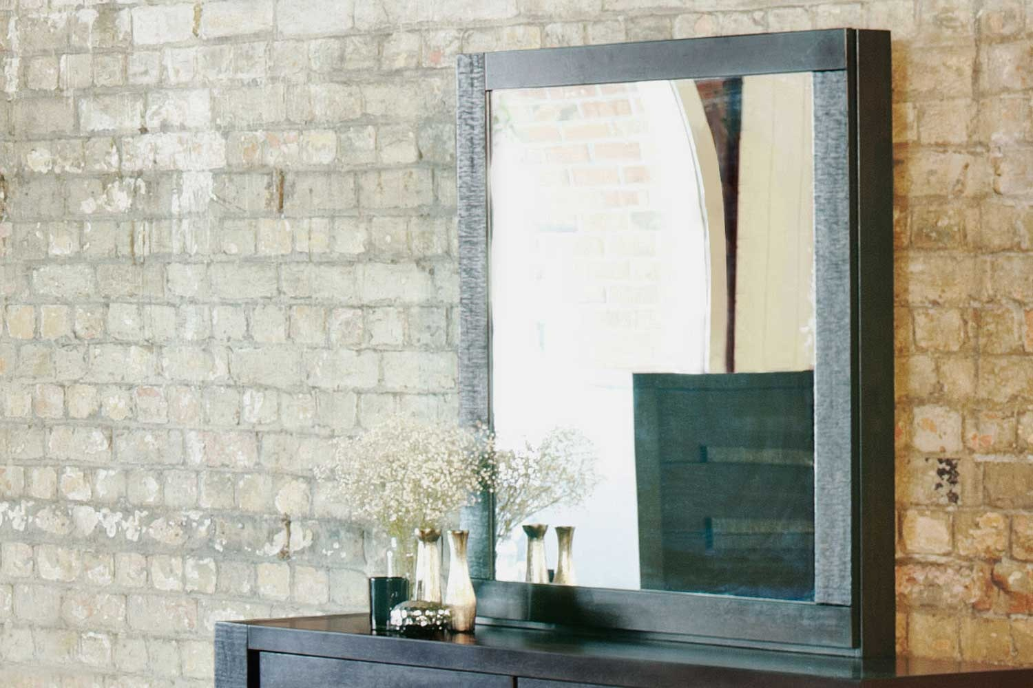 Java Wooden Mirror
