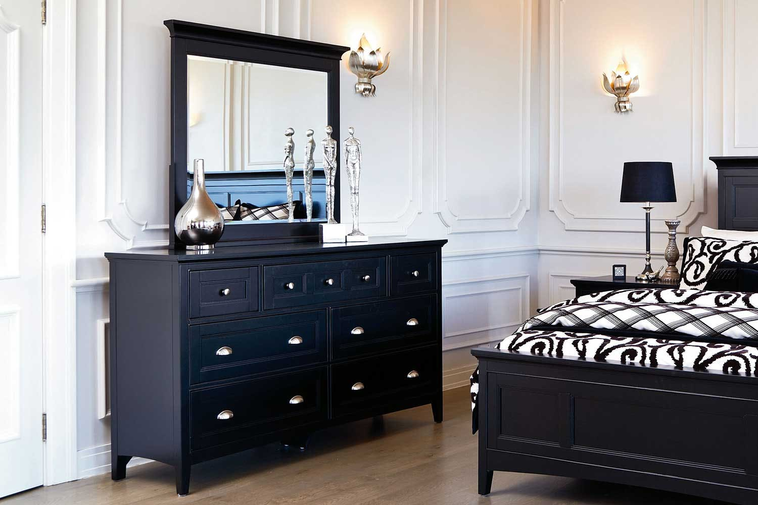 Southampton Dresser And Mirror By Garry Masters