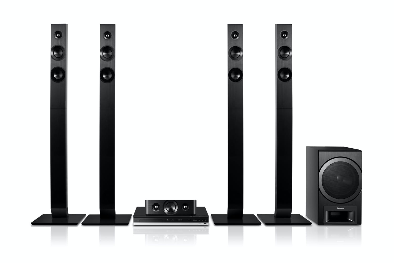 panasonic 5 1 channel 3d blu ray home theatre system harvey norman