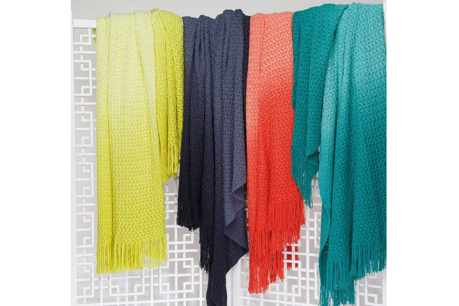 Ombre Throws