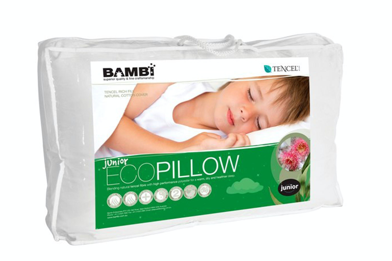 Hypo-allergenic Kids Pillow