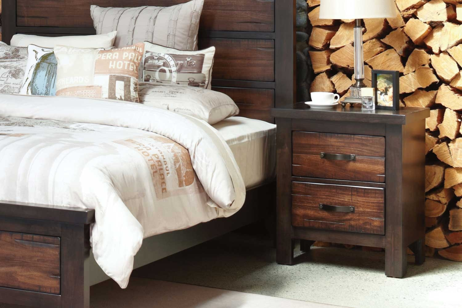 Anchorage Bedside Table