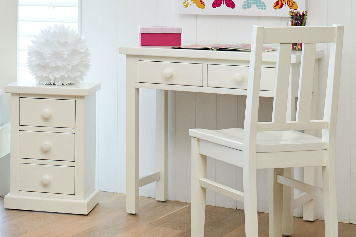 Cottingham Kids White Desk by Debonaire Furniture