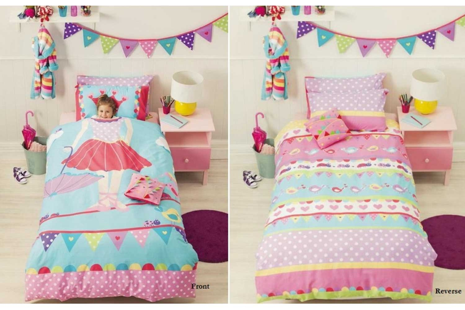 Kids Duvet Cover by Cubby House Kids