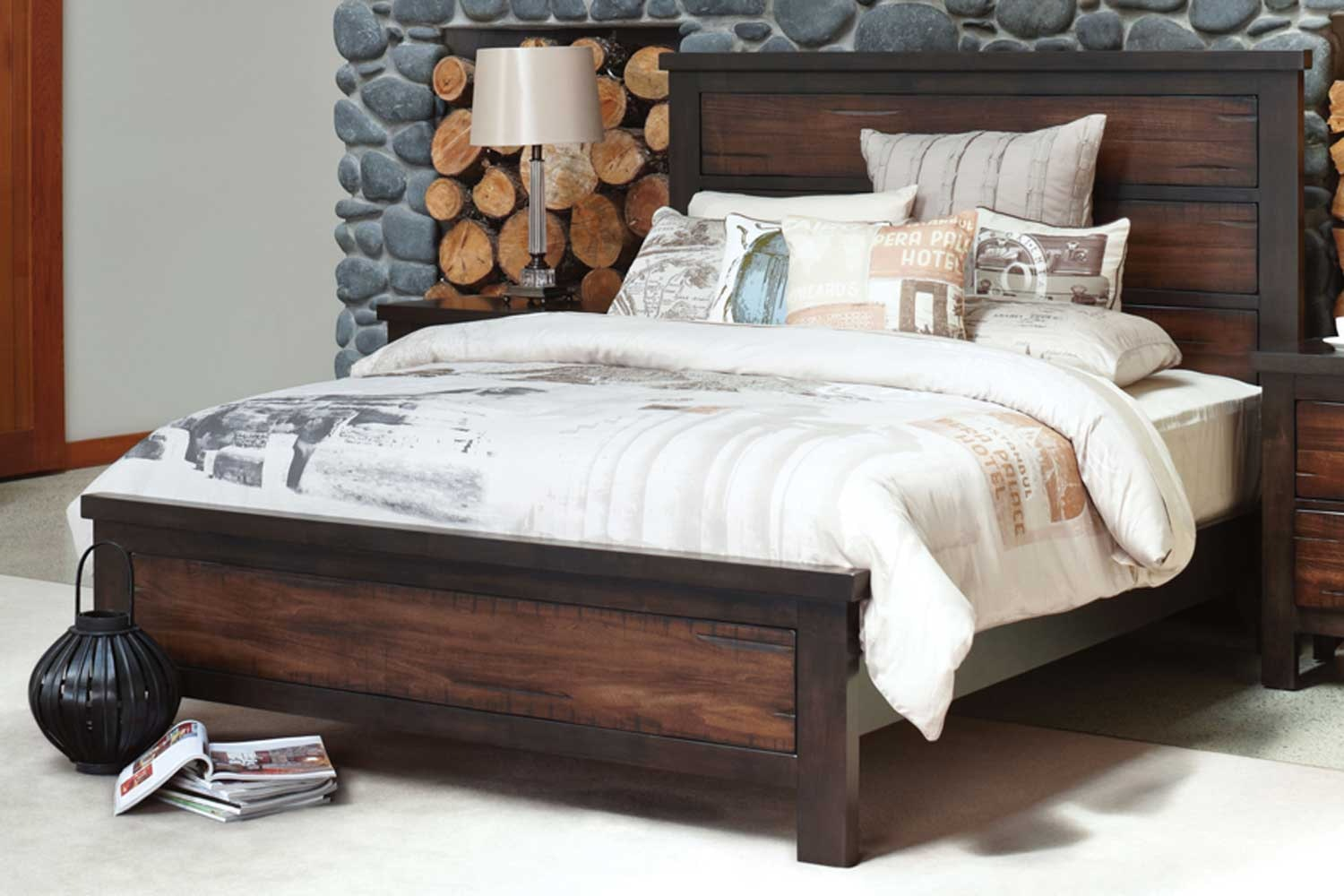 Anchorage King Bed Frame by Stoke Furniture