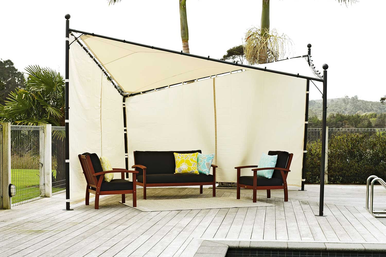 Butterfly Gazebo 4m Square  by Peros
