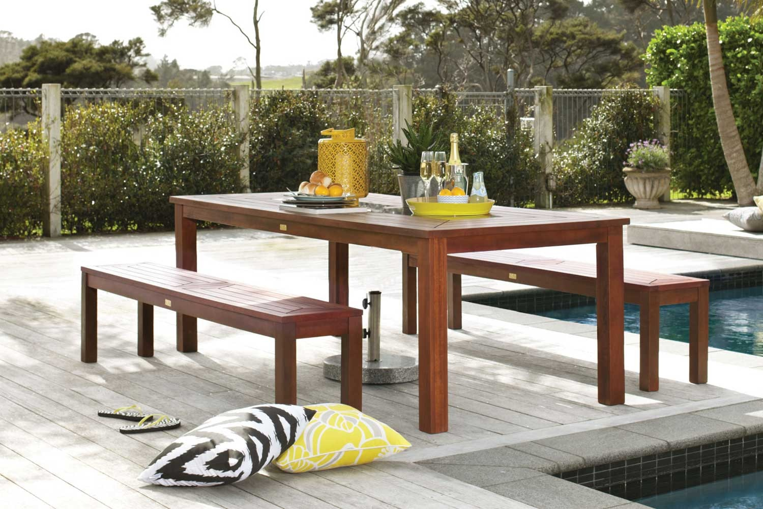 Maldives 3 Piece Outdoor Dining Setting