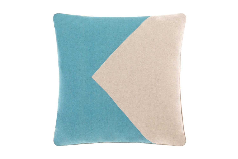 Flag Cushion Teal