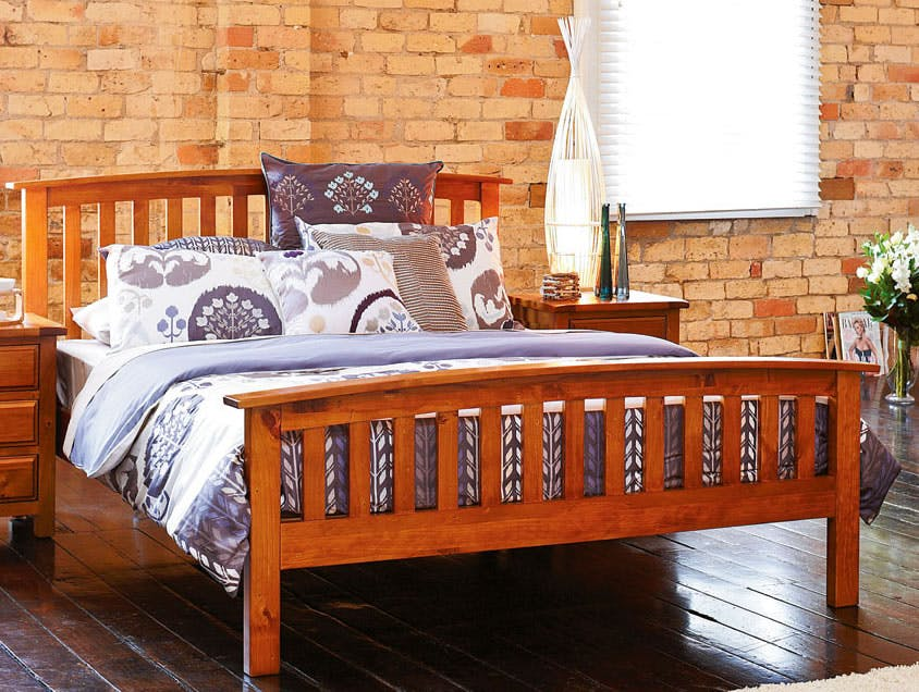 Image of Monterey King Bed Frame by Debonaire