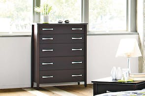 Chicago 5 Drawer Tallboy by Coastwood Furniture
