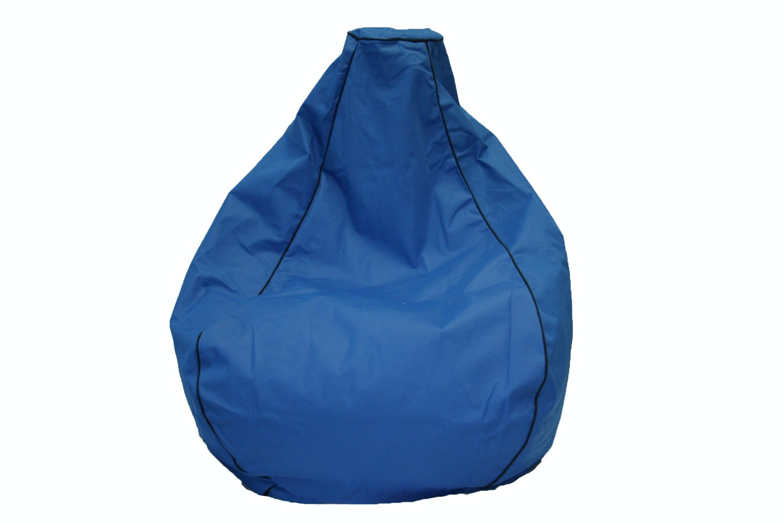 Canvas Outdoor Bean Bag in Blue