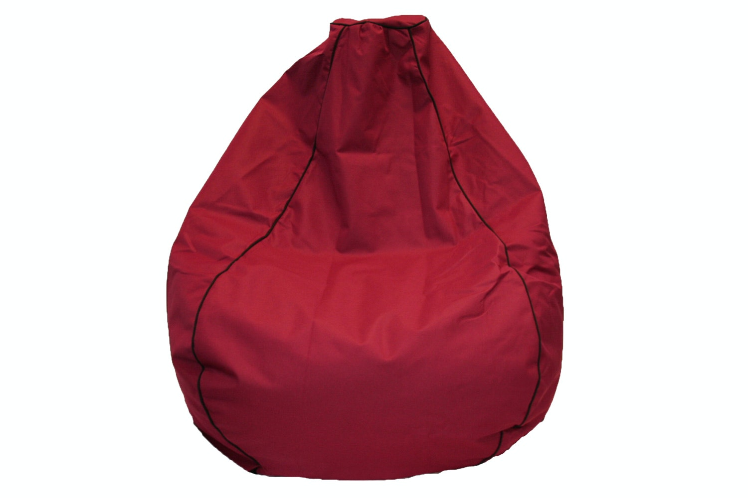 Studio Premium Canvas Bean Bag - Burgundy